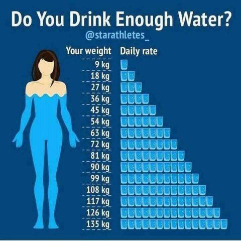 Do you Drink Enough Water   mannatacademy.com