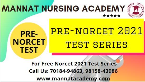 Message | mannatacademy.com| Free Pre-NORCET 2021 test